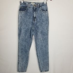 Vintage Stefano High Rise Acid Wash Mom Jeans